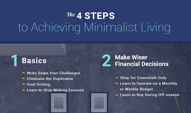 Achieving Minimalist Living With Minimum Effort