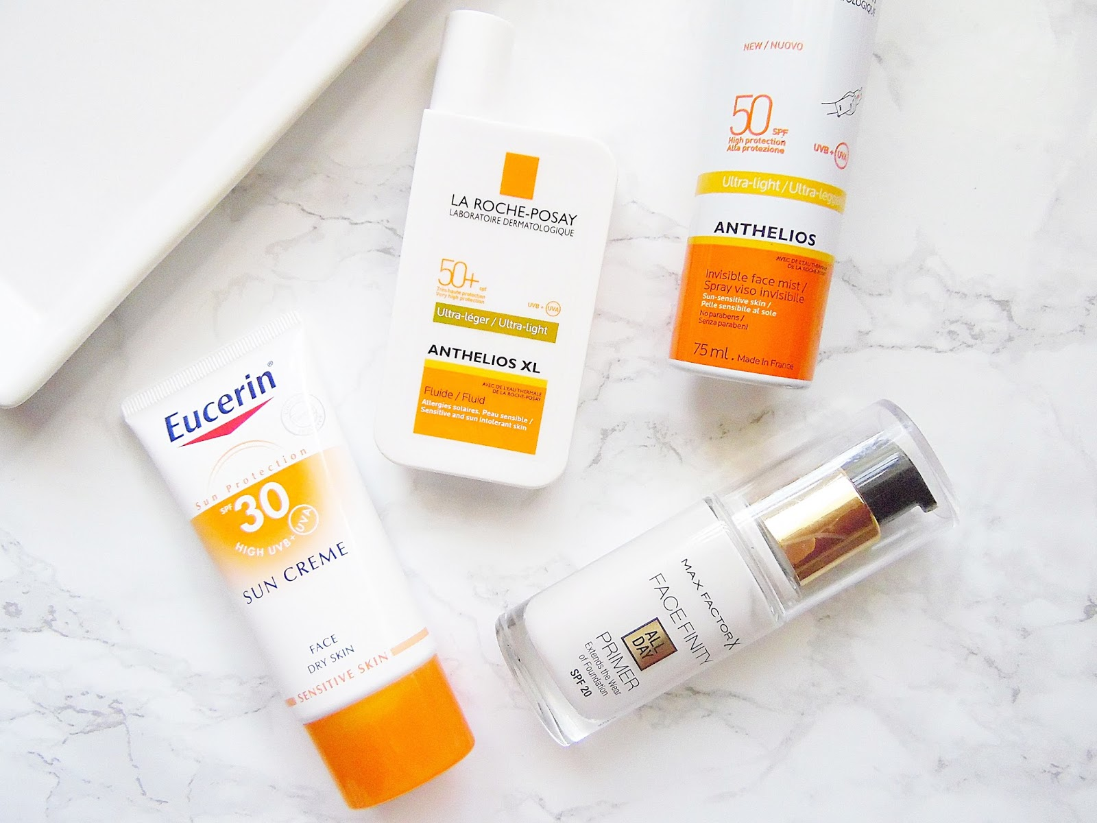 Facial SPF Must Haves