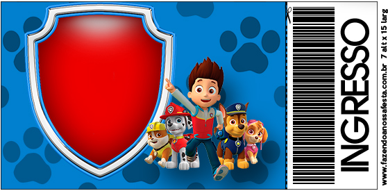 picture regarding Free Printable Paw Patrol Invitations identify Paw Patrol: Totally free Printable Invites. - Oh My Fiesta! in just