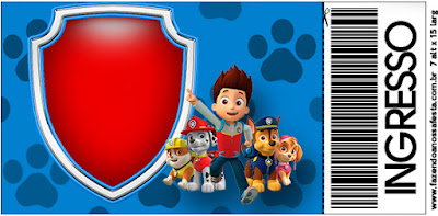 Paw Patrol Free Printable Invitations Oh My Fiesta In English - Paw patrol invitation template