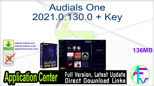 Audials One 2021.0.130.0 + Key