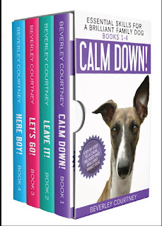 Essential Skills for a Brilliant Family Dog Books 1-4, Calm Down! Leave It! Let's Go! and Here Boy!