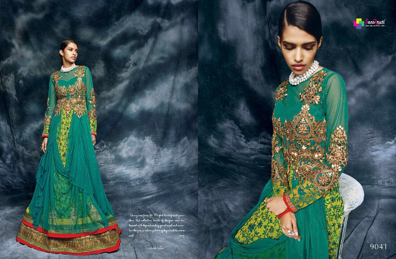 Vavika – Pure Soft Net Heavy Designer Party Wear Gown