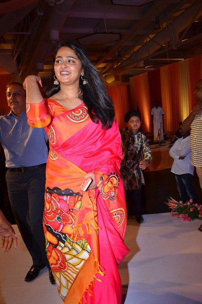 Anushka Shetty at Shyam Prasad Reddy Daughter Wedding Pictures