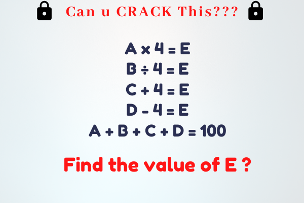 Can You Crack This??