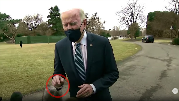 """Absolute proof the Biden """"presidency"""" is FAKED… new video shows green screen compositing """"error"""" that exposes the truth"""