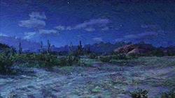 Fremdes Land bei Nacht...