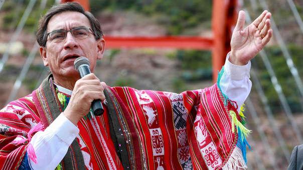 """Vizcarra anuncia que el 2020 será denominado """"Año de la Universalización de la Salud"""""""