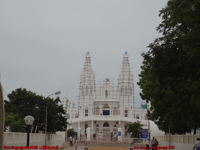 Basilica of Our Lady of Good Health Velankanni