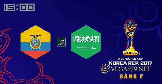 Nhận định, soi kèo nhà cái U20 Ecuador vs U20 Saudi Arabia