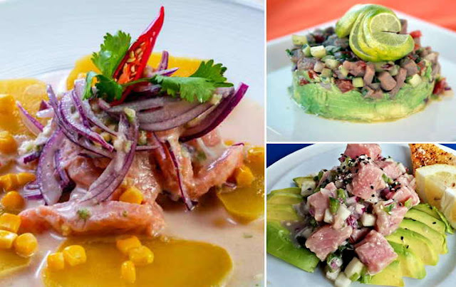 receta de cebiche de atun peruano