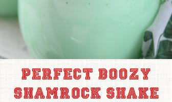 Perfect Boozy Shamrock Shake
