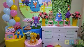 Decoração festa infantil Galinha Pintadinha Porto Alegre