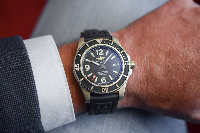 Breitling Superocean Automatic 44 MM black watch replica M17368B71B1S1