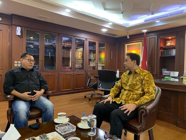 Wakil Ketua DPR RI Terima Audensi Pengurus SMSI Pusat