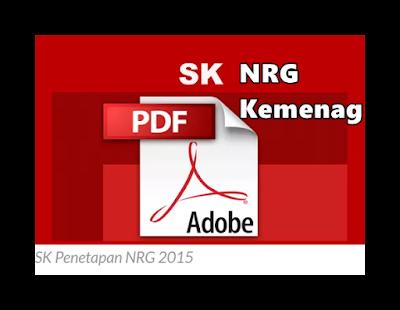 SK NRG Kemenag