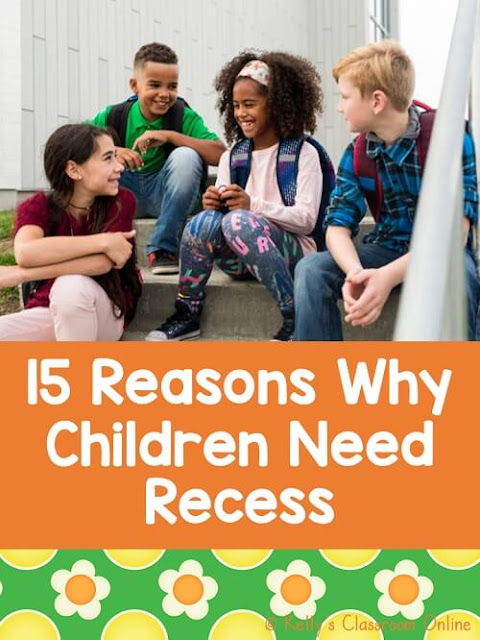 Children were asked to read an article about recess & answer questions about it. Do they think they need recess? Yes, they do! Read their reasons why!