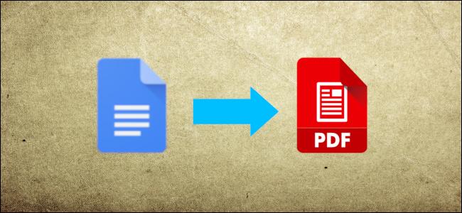 مستندات Google المستند إلى رأس PDF