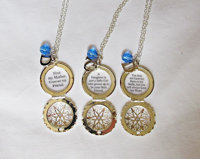 image quote locket necklace lockets necklaces set mother daughter family typography two cheeky monkeys