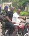 Ex-Ekiti gov, Ayo Fayose, spotted in Okada
