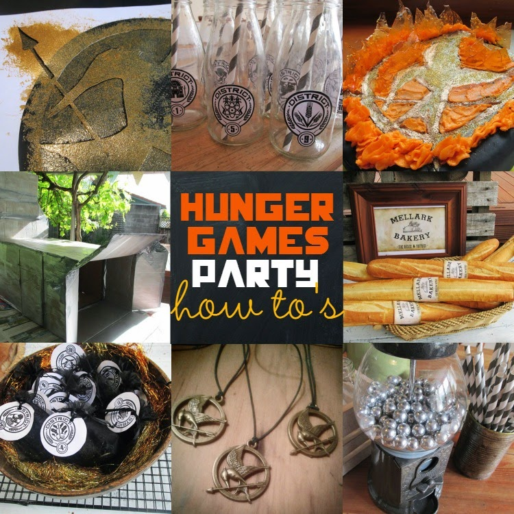 Great Fun Etc: Hunger Games Party How To's (with Free