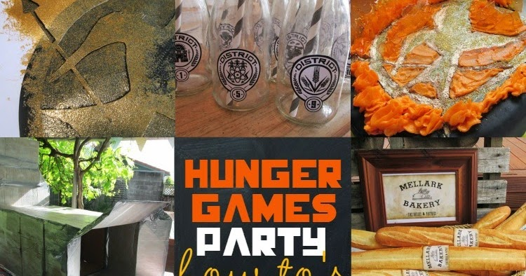 Great Fun Etc Hunger Games Party How To S With Free Printables