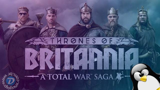 A Total War Saga: Thrones of Britannia agora disponível para Linux