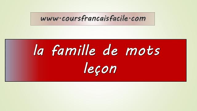 français facile
