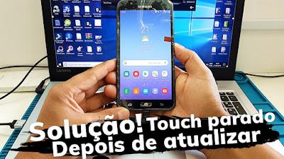 Como Resolver Touch Travado Samsung j7 Neo (SM-J701MT)Travou Apos Atualização