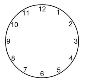 buatlah angka jam www.simplenews.me