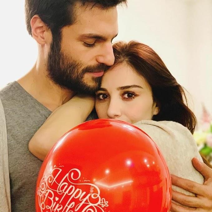 "serkan çayoğlu ""Everyday is Valentine's day for us..."""