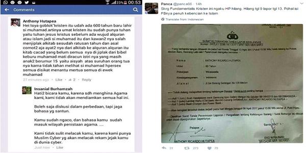Netizen BONGKAR Kebohongan Anthony Hutapea Sang Penghina Nabi Muhammad. Ini Bukti-Buktinya