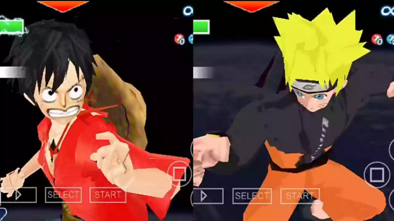 Naruto Dbz ttt mod PSP ISO