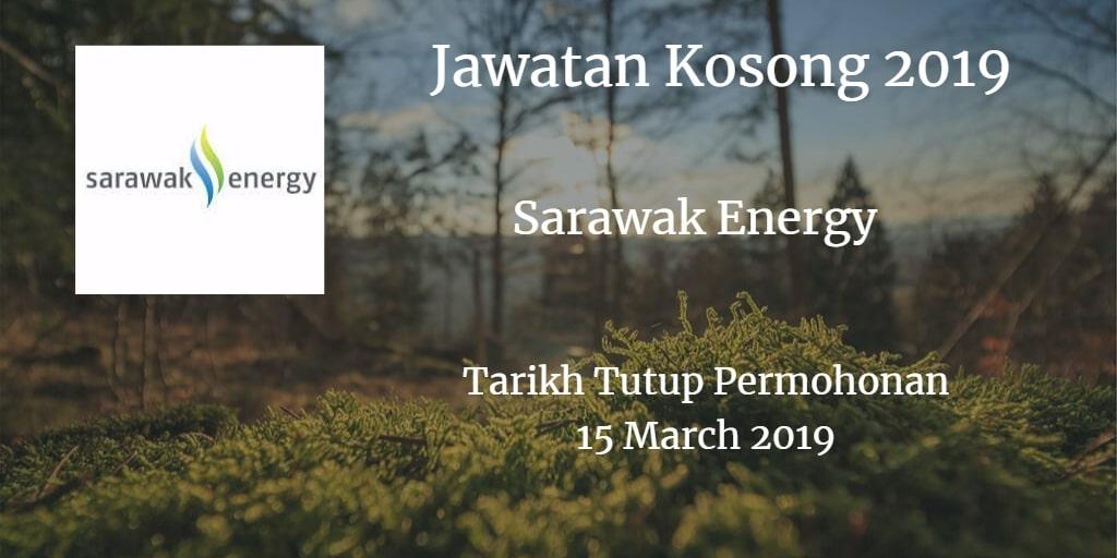 Jawatan Kosong Sarawak Energy 15 March 2019