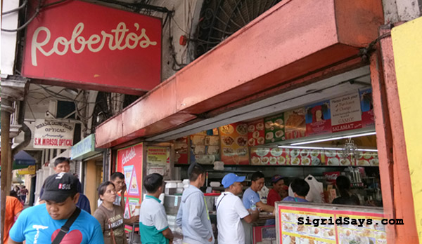 Roberto's Siopao Iloilo - Iloilo restaurant - Iloilo City - family travel - Iloilo eats - best siopao - Bacolod blogger - downtown Iloilo