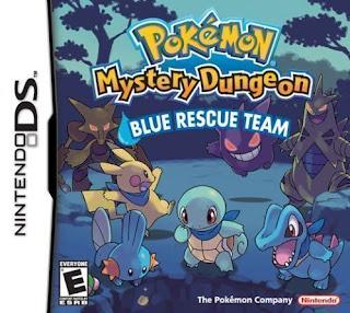 Pokemon Mundo Misterioso: Equipo d Rescate Azul, NDS, Español, Mega, Mediafire