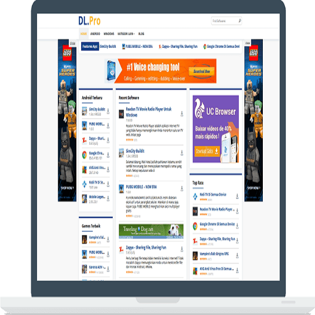 DLpro Theme WordPress