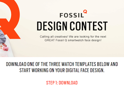 Fossil Q Watch face Design Contest 2016