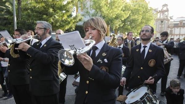 La Banda de Música de la Estrella completa su agenda para Semana Santa por primera vez desde su creación
