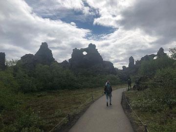 Walking through a volcanic wonderland (Source: Palmia Observatory)