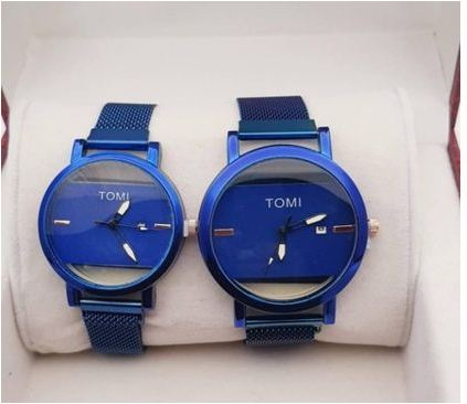 Exclusive Collection Magnetic Day & Date Watches For Couple