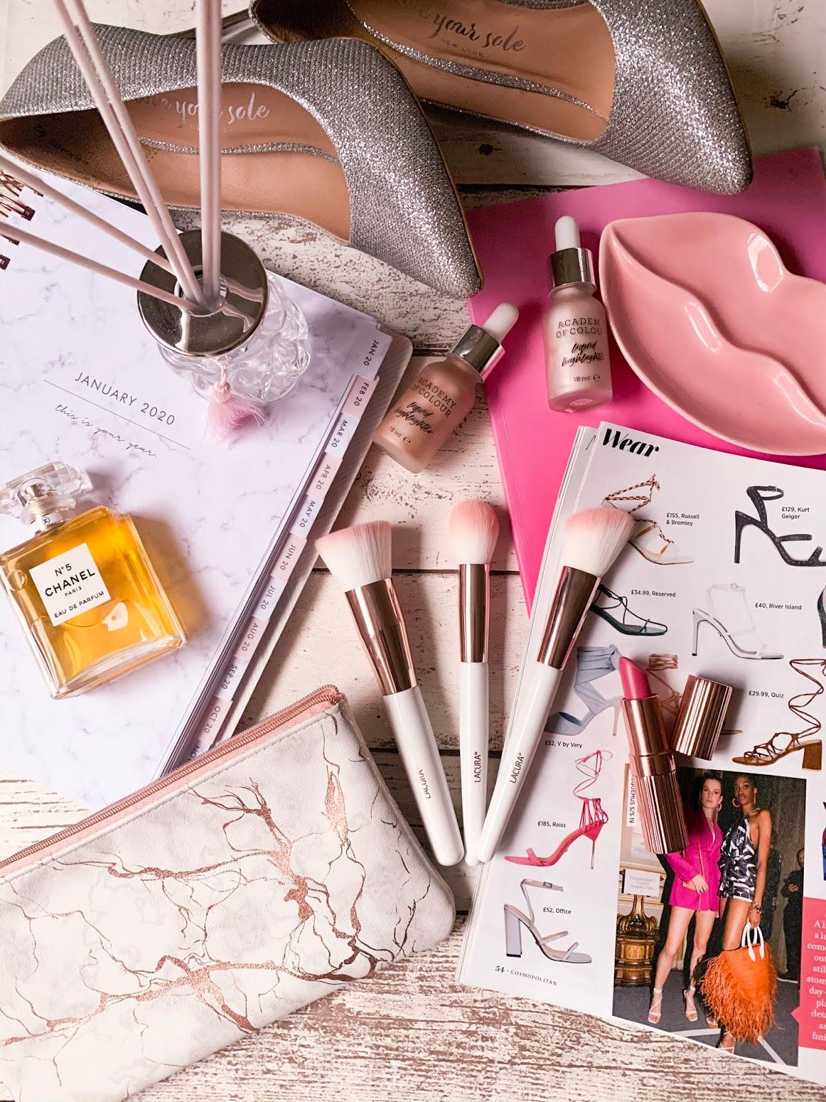 Beauty Flatlay For Beauty Resolutions