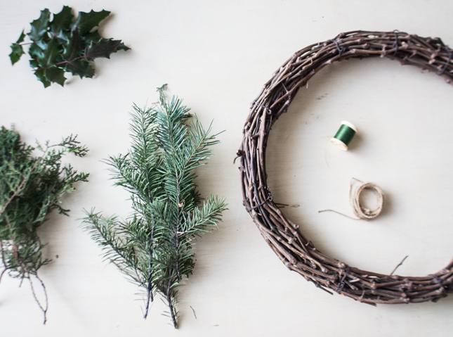 Christmas crafts: make your own Christmas wreath