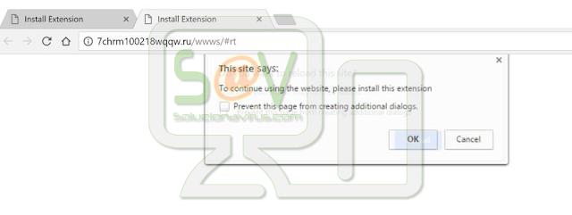 7chrm100218wqqw.ru (Extensiones forzosas de Chrome)