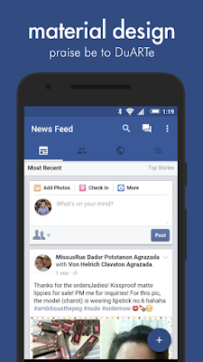 Facebook do android igual do iphone APK