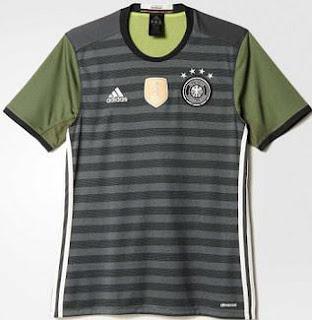 Jersey Jerman Away Euro 2016