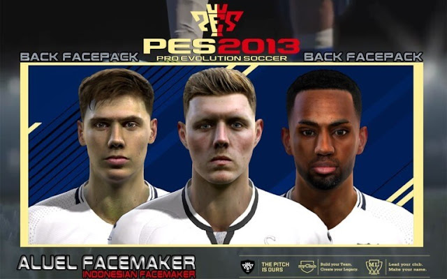 Back Facepack 2018 PES 2013