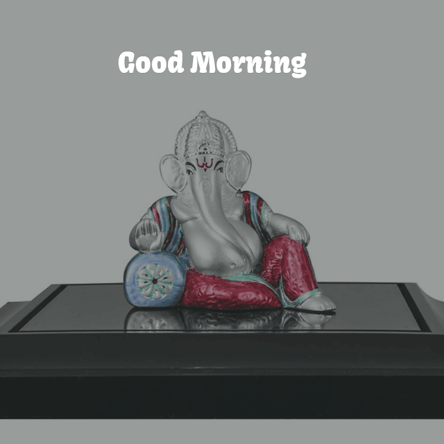 good morning msg with ganpati images