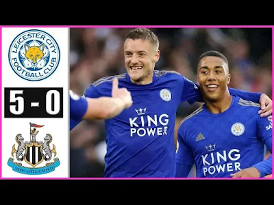 Leicester City vs Newcastle United 5-0 All Goals And Match Highlights [MP4 & HD VIDEO]