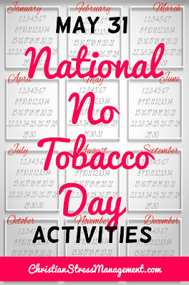 May 31 National No Tobacco Day Activities